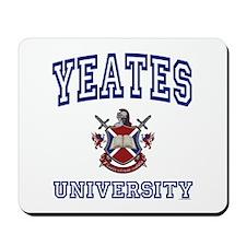 YEATES University Mousepad