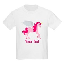 Cute Pink Flying Unicorn T-Shirt