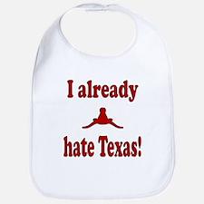 Cute Hate texas Bib