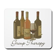 Wine Group Therapy 1 Mousepad