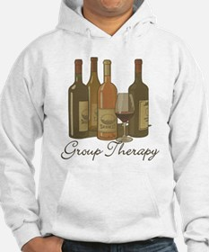 Wine Group Therapy 1 Jumper Hoodie