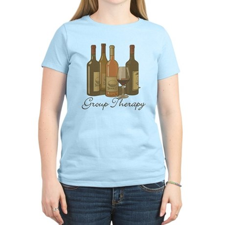 Wine Group Therapy 1 Women's Light T-Shirt