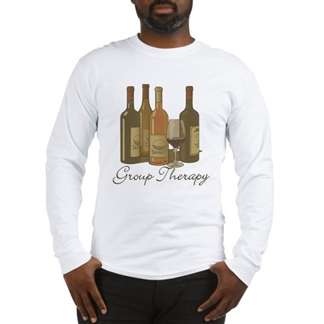 Wine Group Therapy 1 Long Sleeve T-Shirt