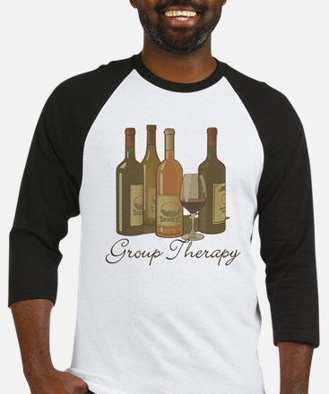 Wine Group Therapy 1 Baseball Jersey