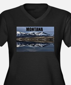 Montana Reflections Plus Size T-Shirt