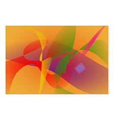 Digital Kandinsky Emulation Postcards (Package of