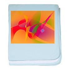 Digital Kandinsky Emulation baby blanket