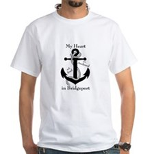 Heart and soul anchored in Bridgeport T-Shirt