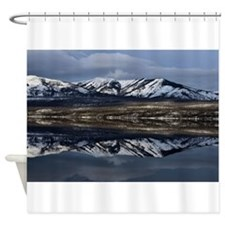 Reflections Of Lake Mcdonald Shower Curtain