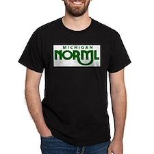 Michigan NORML Swoop Logo T-Shirt