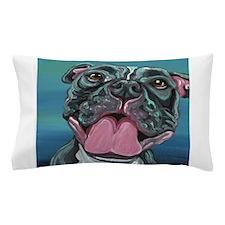 Happy Pit Bull Pillow Case