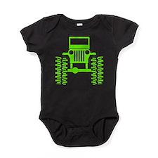 Unique Jeeps Baby Bodysuit