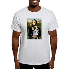 Mona Lisa/Cattle Dog T-Shirt