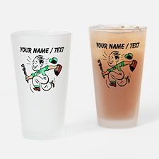 Plumber (Custom) Drinking Glass
