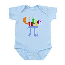 Cute Math boy Infant Bodysuit