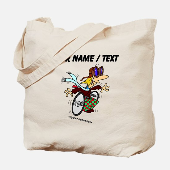 Pilot In Wheelchair (Custom) Tote Bag