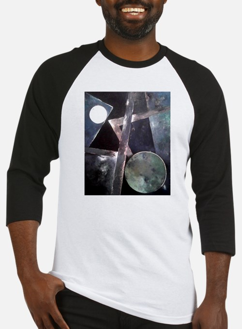 Malevich Abstract Rectangles Russi Baseball Jersey