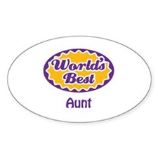 Cute Worlds best niece Decal