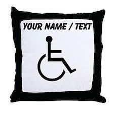 Custom Handicapped Throw Pillow