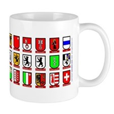 Switzerland: Heraldic Mug of the Cantons