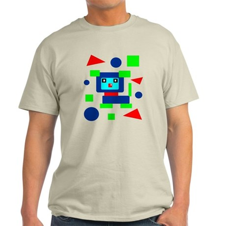 Square, Circle, Triangle Light T-Shirt