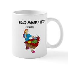 Phone Operator (Custom) Mugs