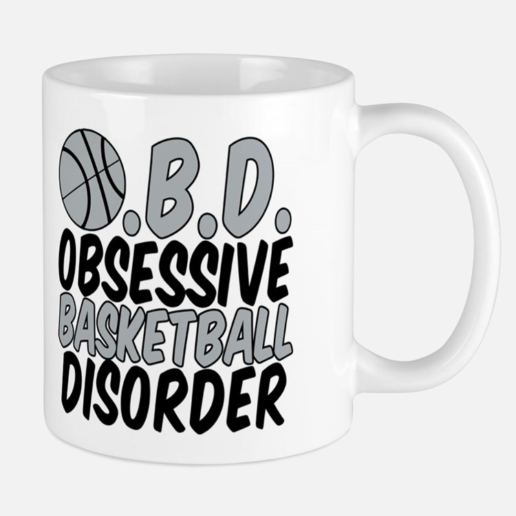 Silver Basketball Mug Mugs