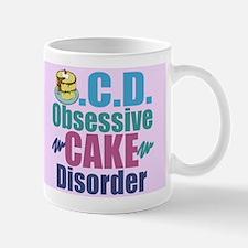 Cute Cake Mug Mugs