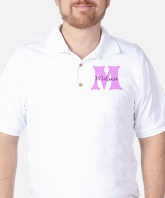 CUSTOM First Initial and Name Golf Shirt