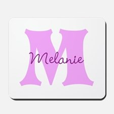 CUSTOM First Initial and Name Mousepad