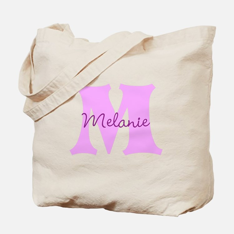 CUSTOM First Initial and Name Tote Bag