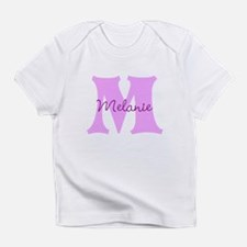 CUSTOM First Initial and Name Infant T-Shirt