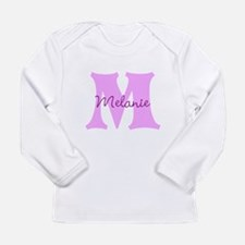 CUSTOM First Initial and Name Long Sleeve T-Shirt