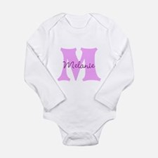 CUSTOM First Initial and Name Body Suit