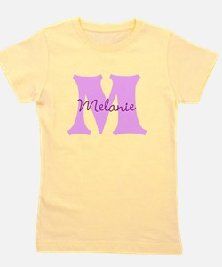 CUSTOM First Initial and Name Girl's Tee