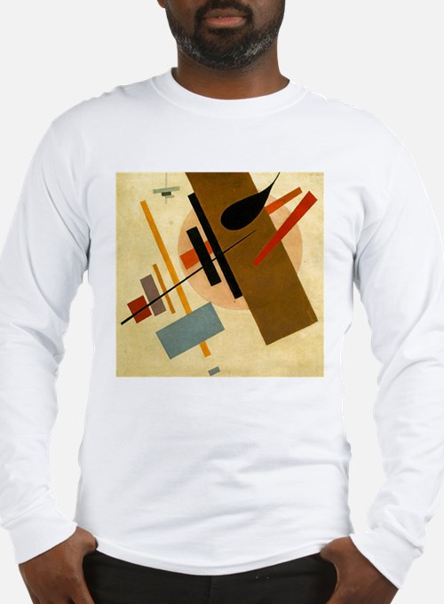 Malevich Abstract Rectangles R Long Sleeve T-Shirt