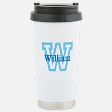 CUSTOM First Initial and Name Travel Mug