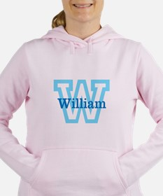 CUSTOM First Initial and Name Women's Hooded Sweat