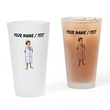 Nurse (Custom) Drinking Glass