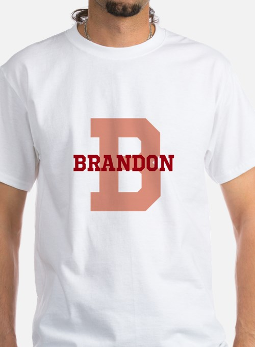 CUSTOM Initial and Name Red Shirt