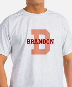 CUSTOM Initial and Name Red T-Shirt