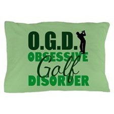 Golf Obsessed Pillow Case