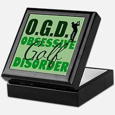 Golf Obsessed Keepsake Box