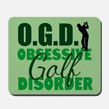 Golf Obsessed Mousepad