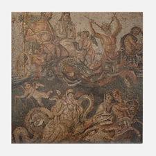 Pompeii Mosaic Tile Coaster