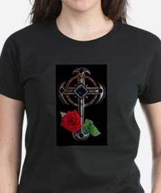 DCL Cross and Rose.jpg T-Shirt