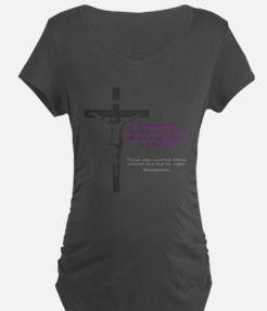Chesterton and Doing Right Maternity T-Shirt