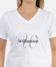 CUSTOM Initial and Name Gra Shirt