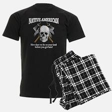 Native American (skull) Pajamas
