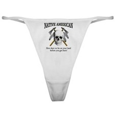 Native American (skull) Classic Thong